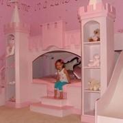 Кровать-замок мебель для детей фото