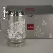 """Кружка для пива из олова """"Elch & Bar"""" с рисунком Artina SKS 93339 фото"""