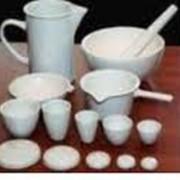 Посуда и оборудование фарфоровые лабораторные фото