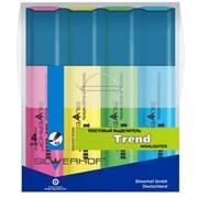 Текстовыделитель Trend, набор 4 цвета фото