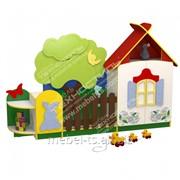 Стенка для игрушек (Домик в деревне) фото
