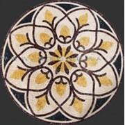 Мозаичное панно из мелких кусочков камня фото