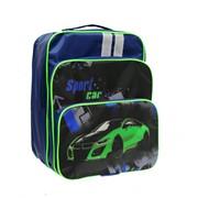 Рюкзак ученический Мальвина, разм. 32х27х15 см, жест.спинка, (LURIS) фото