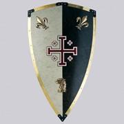 Рыцарский щит 69 х 46 см фото