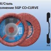 Лепестковые шлифовальные круги POLIFAN Специальная линия SGP INOX/Сталь Исполнение SGP CO-CURVE фото