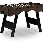 Игровой стол футбол Stuttgar 122x61x81см, венге фото