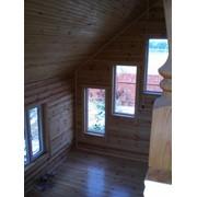 Срубы деревянные, домики деревянные под ключ фото