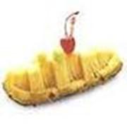Лодка с ананаса фото