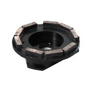 Фреза алмазная шлифовальная сегментная по бетону, зернистость алмаза 63/50 фото