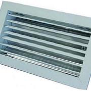Решетка вентиляционная алюминиевая РАГ 100х400 фото