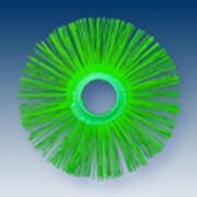 Щетка дисковая полипропиленовая беспроставочная фото