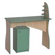 Маникюрный стол ЛЕКС с тумбой фото