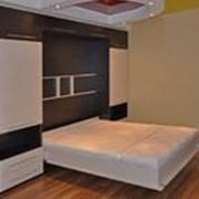 Встроенная кровать фото