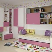 Коллекция мебели для детских комнат СОЛНЕЧНЫЙ ГОРОД (из 7 предметов) фото