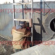 Монтаж резервуаров РВС-400 фото