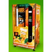 Автомат вендинговый по приготовлению свежеотжатого апельсинового сока ORANFRESH OR – 100 фото