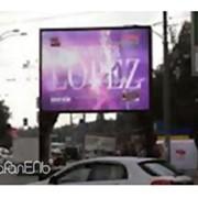 Реклама на видеобордах фото