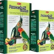 Padovan Корм GRANDMIX Parrocchetti комплексный/основной для средних попугаев (850г) /12/ фото