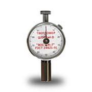 Твердомер (дюрометр) Шора тип D с аналоговым индикатором ТВР-D фото