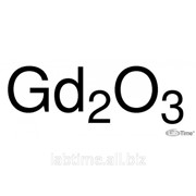 Гадолиния (III) оксид, REacton, 99,99% REO, 10 г 11290 фото