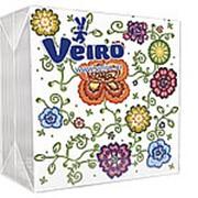 Veiro 2-слойные 25 листов с рисунком 24х24см (Веиро) фото