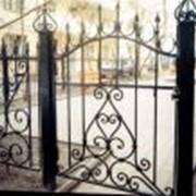 Установка ворот фото