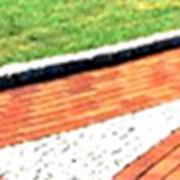 Предприятие занимается установкой бордюров, укладкой тротуаров (брусчатка, плиты) фото