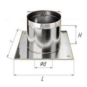 Разделка Феррум потолочная нержавеющая (430/0,5 мм), 600 ф210 фото