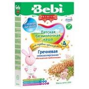 Бэби каша низкоаллергенная гречневая с пребиотиками б/м (с 4 мес) 200г фото