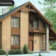 Проект комбинированного дома 54-32 фото