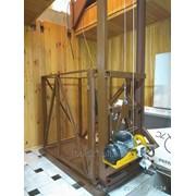 Изготовления и монтаж грузового лифта фото