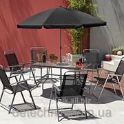 Набор садовой мебели, Cuba 8 Piece Patio Set фото