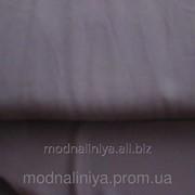 Ткань шифон блузочный ( темно -коричневый) фото