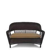 Плетеный диван LV130-1 Brown/Beige фото