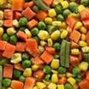 Овощи замороженные фото
