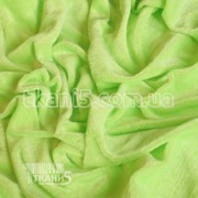 Ткань Велюр ( салатовый неон ) 2684 фото