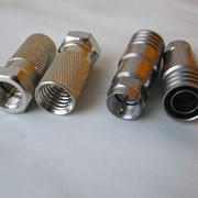 Коннекторы, разъёмы на кабели F-1160, RG-11 обжимные и резьбовые фото