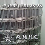 Сетка 50х60х1.4 сварная кладочная оцинкованная низкоуглеродистая для клеток заборов 50х60 фото