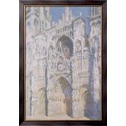 Картина Руанский собор в солнечном свете, 1893-1894), Моне, Клод фото