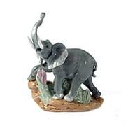 "Статуэтка ""Слон"", фарфор 15см. 10392 фото"