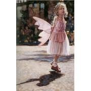 Фреска для детской Ангелочки фото
