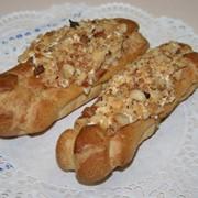 Пирожное Трубочка заварная ореховая фото