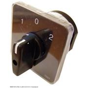 Пакетный переключатель АсКО ПКП Е9 1р 25А 3-позиционный выбор фазы 1-0-2 фото