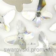 Камни Swarovski бабочка . Crystal. (1шт.) фото