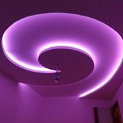 Подсветка потолка фото