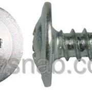 Саморез по металлу прессшайба, оцинковка 3.5х45 мм. фото