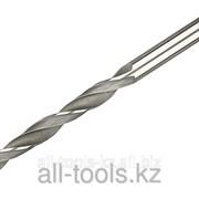 Сверло Зубр Мастер по металлу, цилиндрический хвостовик, быстрорежущая сталь Р6М5, 1,1х36мм Код: 4-29621-036-1.1 фото