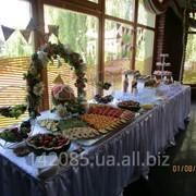 Оформлення, декорування та приготування фуршетних столів фото