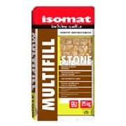 MULTIFILL-STONE 25 кг СЕРЫЙ. Цветной полимерцементный раствор для кладки и затирки камня CG2 WA фото