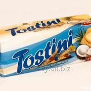 Тосты хрустящие Tostini с кокосом, 200 г фото